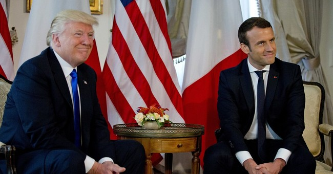 AP FACT CHECK: Trump sides with French winner, at least now