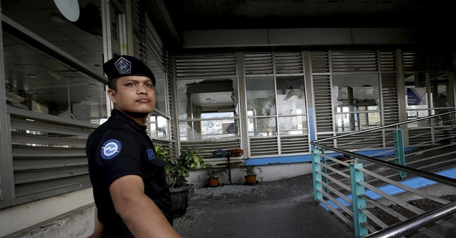 '2 blasts at bus terminal in Indonesian capital, casualties'