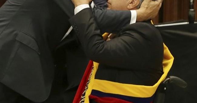 Losing power: Ecuador's Correa hospitalized after retiring