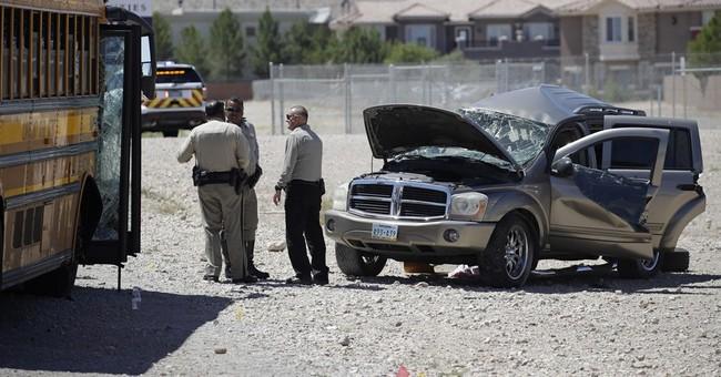 11 hurt, most with minor injuries, in Vegas school bus crash