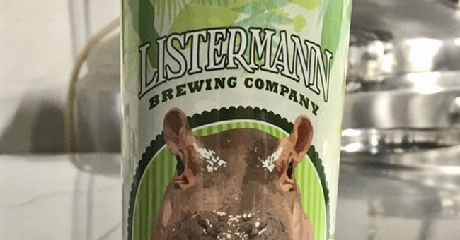 Brewing company creates beer in honor of baby hippo Fiona