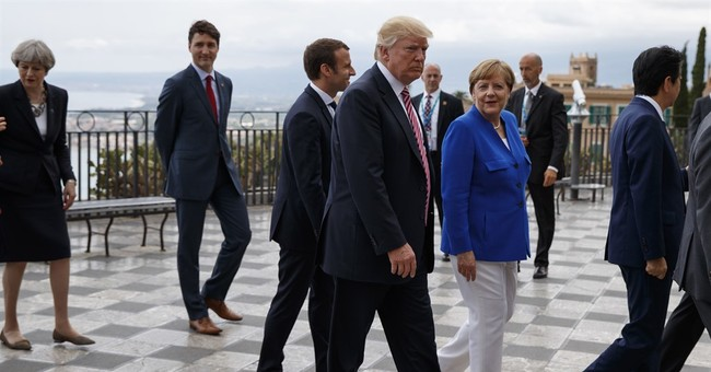Trump views on climate 'evolving' amid push from Europeans