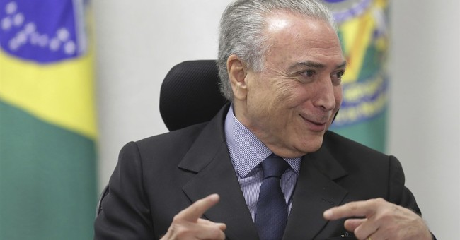 Allies of Brazil's president looking to future amid scandal