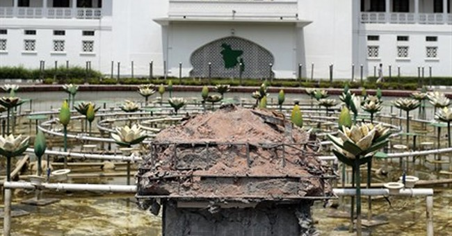 Lady Justice statue removed from Bangladesh court complex