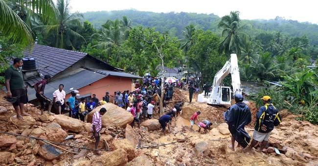 91 killed, 110 missing in Sri Lankan floods, mudslides