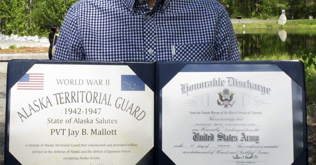 Alaska Natives honored for protecting territory during WWII