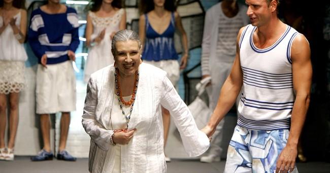 Italian fashion designer Laura Biagiotti dies at 73