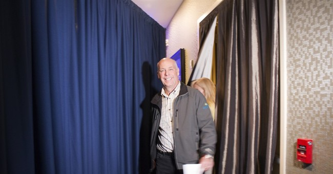 The Latest: Democrat concedes to Gianforte in Montana race