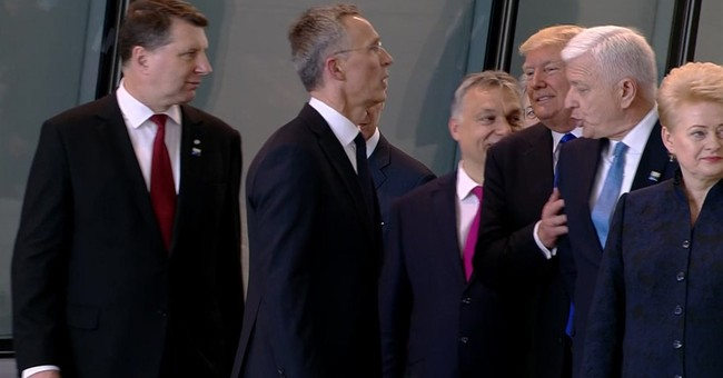 Sounds of silence? Trump's body language speaks volumes