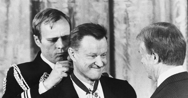 The Latest: Former presidents recall Brzezinski's influence