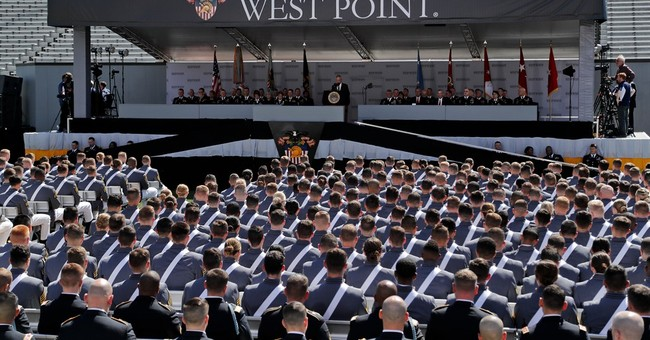 Defense secretary references Manchester in West Point speech