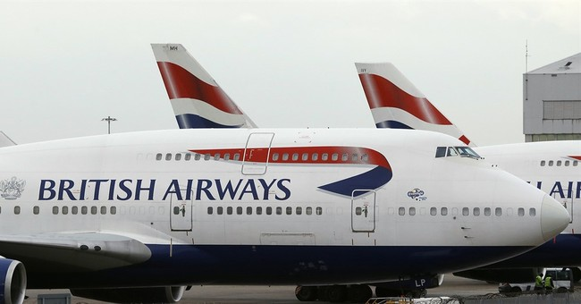 The Latest: BA cancels all flights from Heathrow, Gatwick