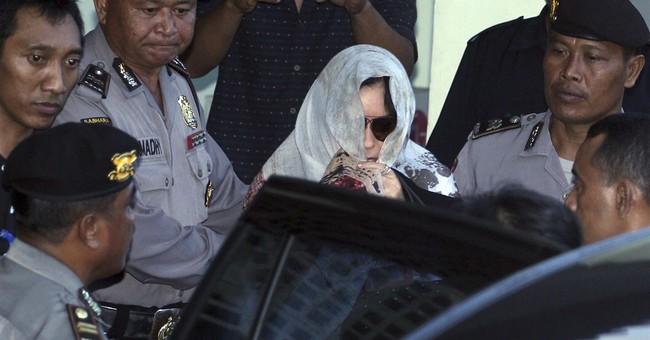 Australia's most notorious drug smuggler returns from Bali