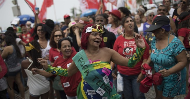 Top Brazilian musicians join in calling for a new president
