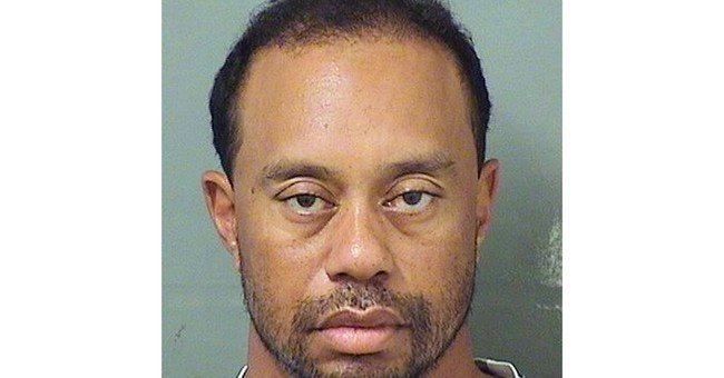 Police video shows unsteady, slurring Tiger Woods