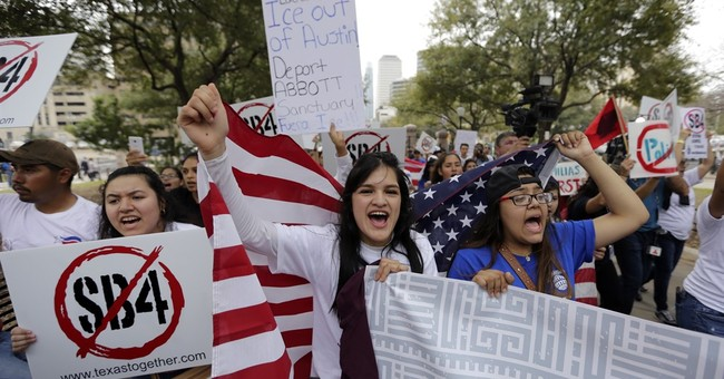 The Latest: Texas Republican accused in shooting threat