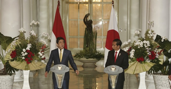 Indonesia, Japan affirm deeper ties during Abe's Asian tour