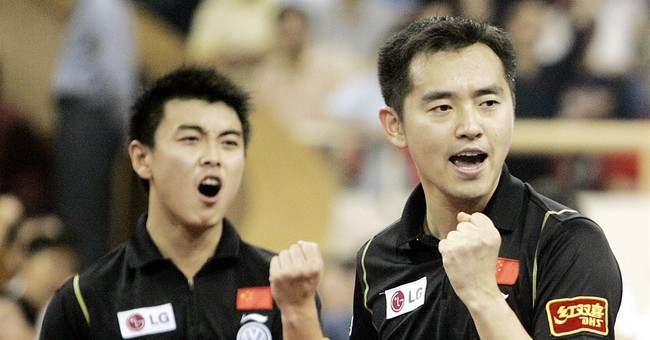 Chinese pingpong great suspended, ordered home from worlds