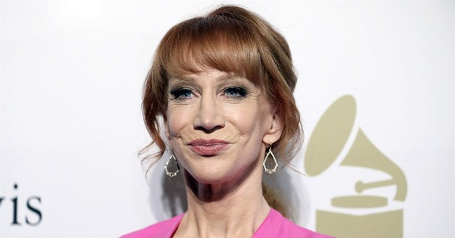 The Latest: CNN cuts ties with Kathy Griffin over video