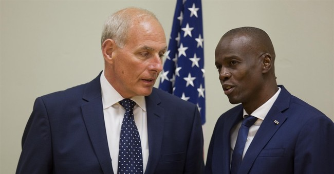 US homeland security chief meets with Haitian leaders