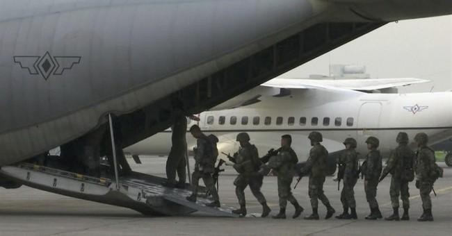 Philippine airstrike kills 11 soldiers in besieged city