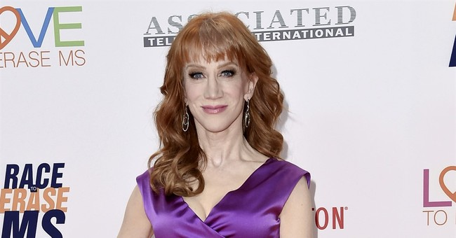 CNN sacks Kathy Griffin over Trump video as backlash builds