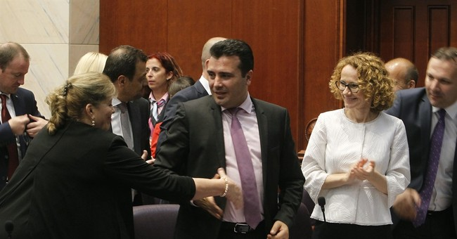 Macedonia's Zaev wins confidence vote to form new government