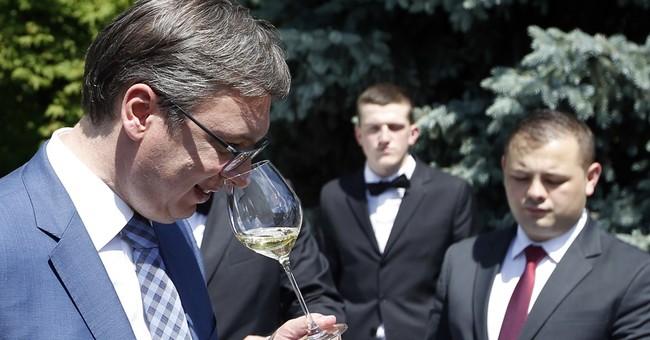 Aleksandar Vucic sworn in as Serbia's next president