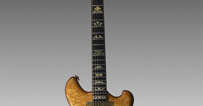 Jerry Garcia's guitar fetches $1.9M at New York auction