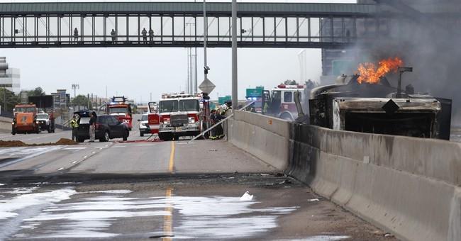 Interstate 25 near Denver reopens after tanker fire