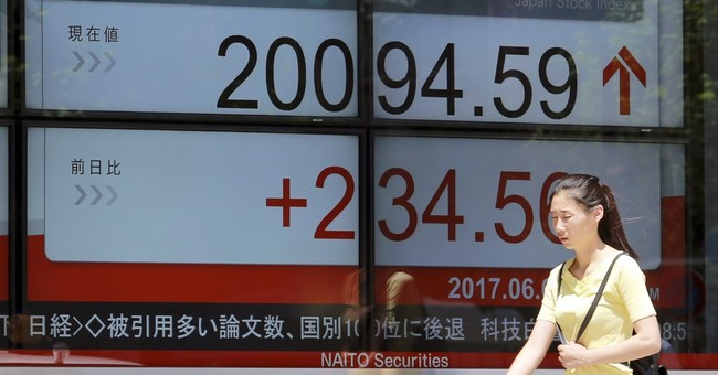 Asian markets rally; Tokyo stocks up as yen falls