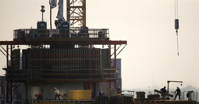 Construction spending fell 1.4 percent in April
