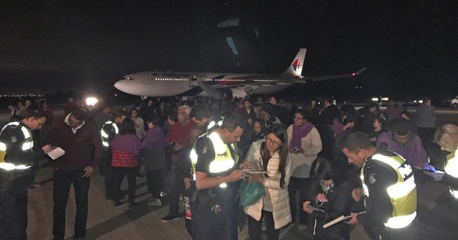Malaysia Airlines jet diverted in Australia over bomb scare
