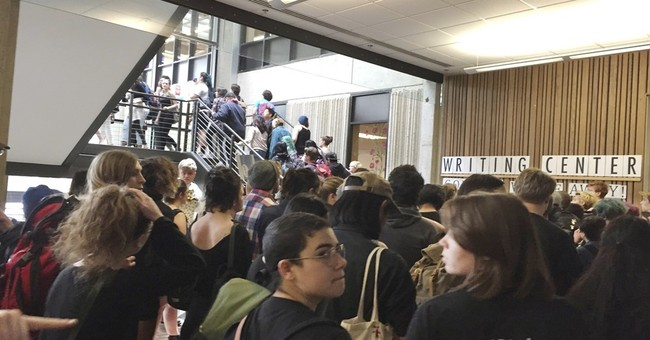 Threat closes Washington college after protests over race