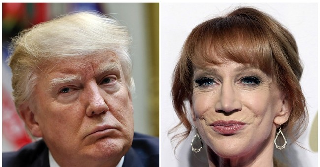 Griffin not 'laying down' for Trump, fears career is over