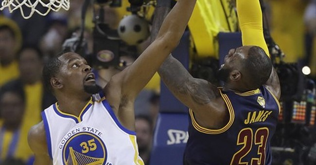 Durant makes his mark in Game 1 of NBA Finals for Warriors