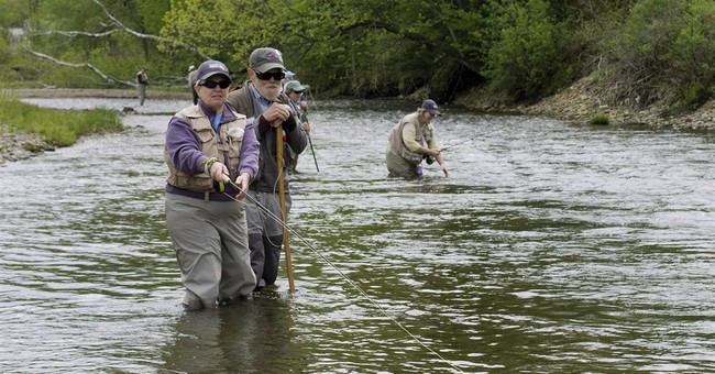 Breast cancer survivors go fly-fishing for solace, healing