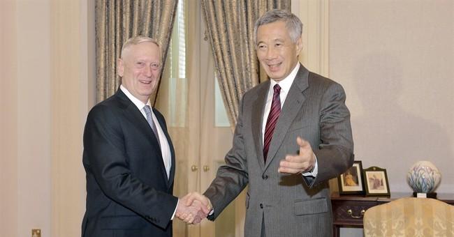Defense chief Mattis seeks continuity in policy toward Asia