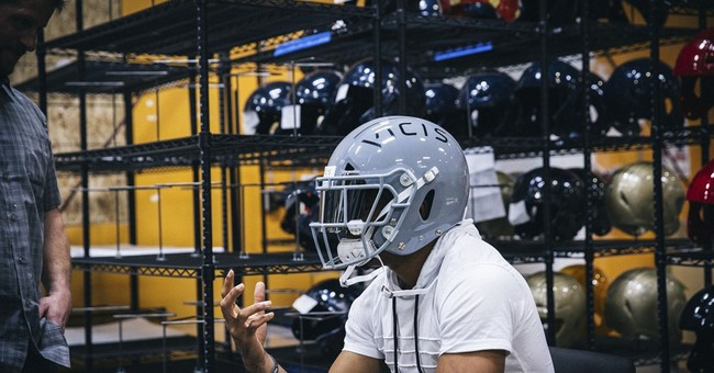 Heads Up! New helmet getting tryout at NFL minicamps