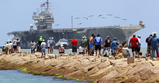 Decommissioned USS Independence to be towed to Texas
