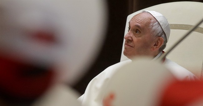 Tone-deaf pope sings at Catholic Charismatic rally