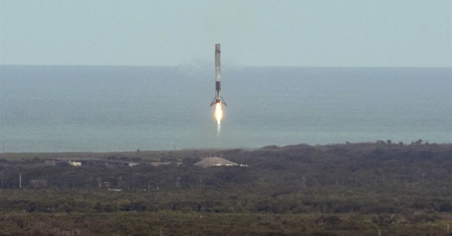 SpaceX launches 1st recycled supply ship