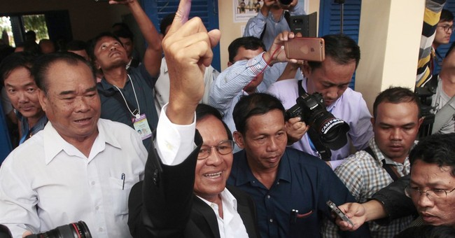 Cambodia opposition claims strong showing in local elections