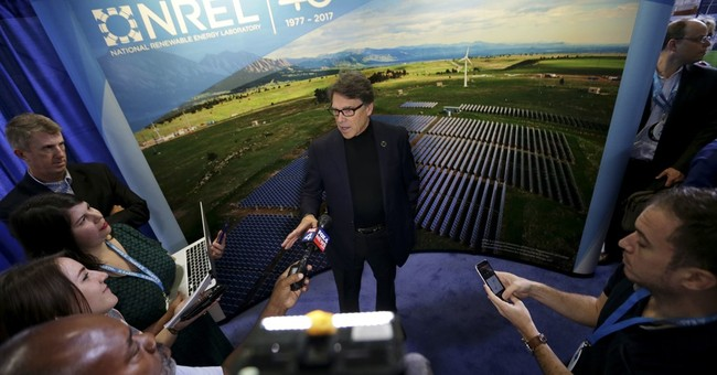 Energy's Perry having blast running agency he vowed to kill