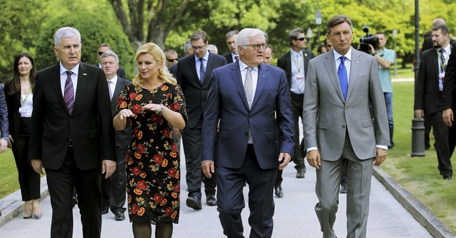 German president says Europe must stay committed to Balkans