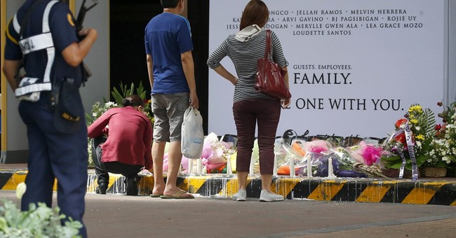 The Latest: Duterte says casino attack was not work of IS