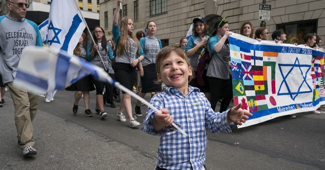 Marchers turn out in NYC for annual Celebrate Israel parade