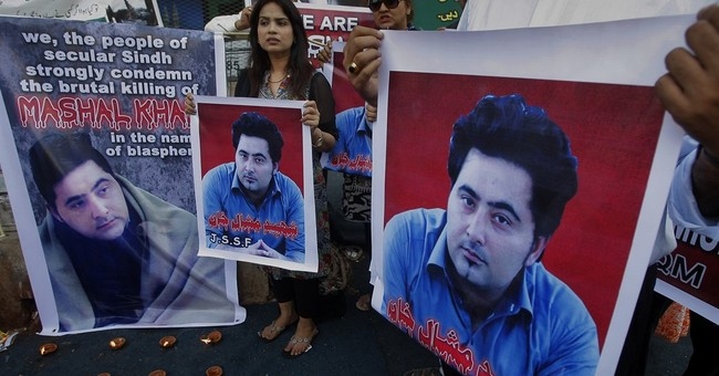 Pakistani police say lynching organized by student's enemies