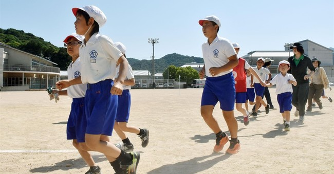 Japan holds evacuation drill amid tension from N. Korea