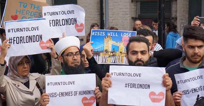 Attack brings out the best in London's Borough neighborhood
